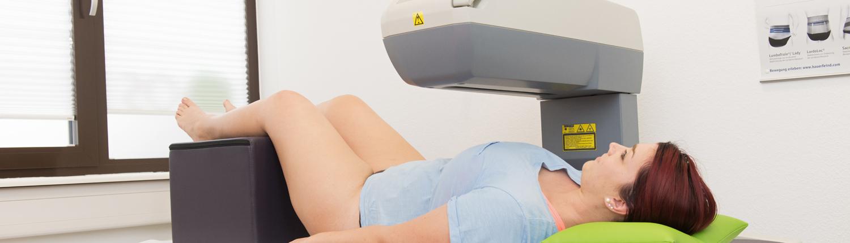 Bild DXA Knochendichtemessung Dr. Spieker Orthopädie Achern
