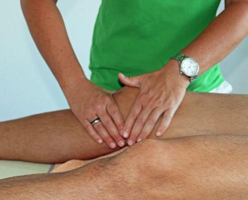 Bild Lymphdrainage CeOS Physiotherapie Achern