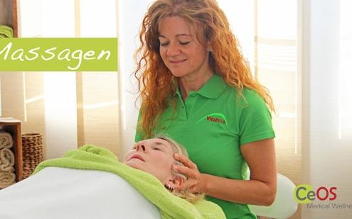 CeOS Wellness Achern Massage Bild