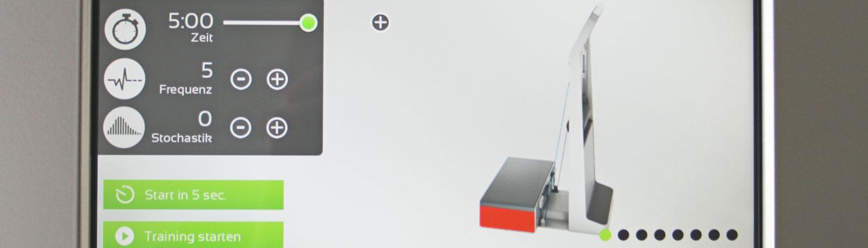 Bild Wellengang Galileo Vibrationstraining CeOS Achern