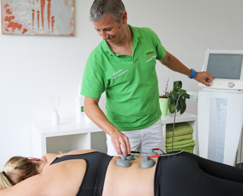 Bild Elektrotherapie CeOS Physiotherapie Achern