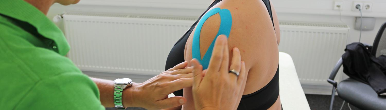 Bild Kinesio Taping Tape CeOS Physiotherapie Achern