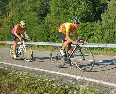Bild Vitalhaus Team Alfred Spieker Zeitfahren
