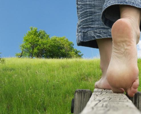 Bild Fußkonzept CeOS Ergotherapie