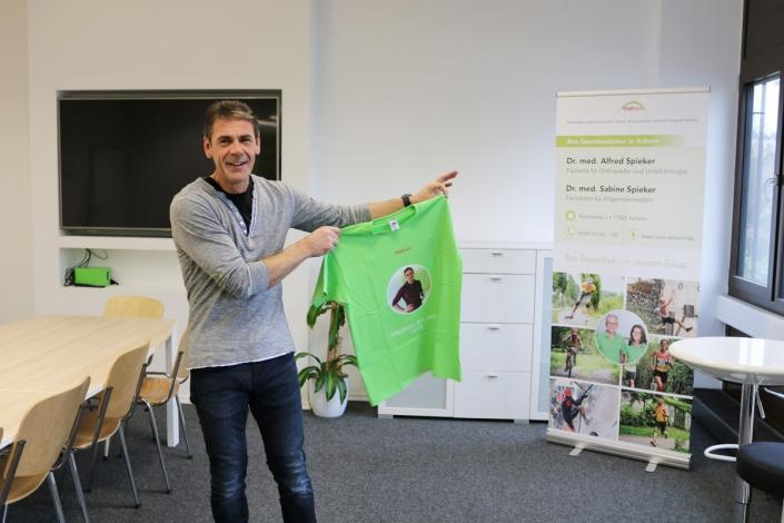Bild Vitalhaus Achern Mitarbeiter des Jahres 2018 Michael Heumann