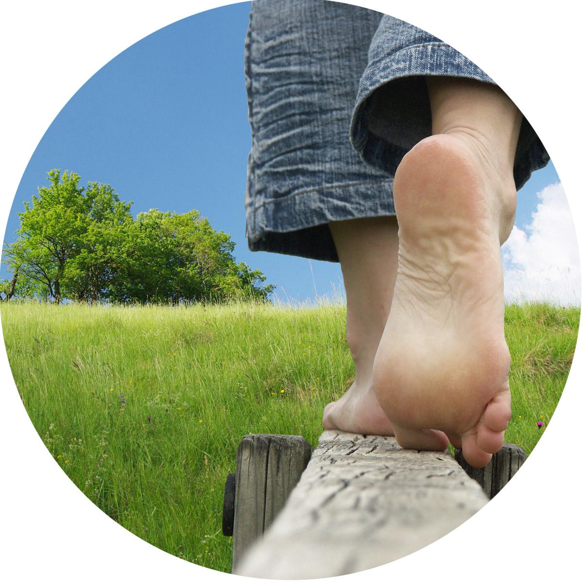 Fußkonzept CeOS Ergotherapie Bild