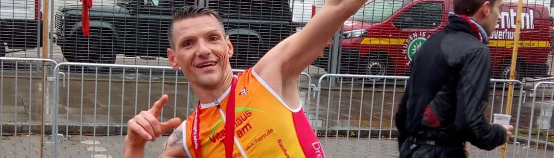 Bild Markus Deichelbohrer Vitalhaus Team Hamburg Marathon 2019 Achern
