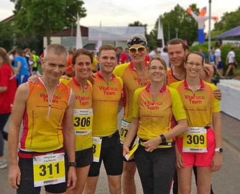 Vitalhaus-Team Ortenauer Laufnacht 2019 Achern