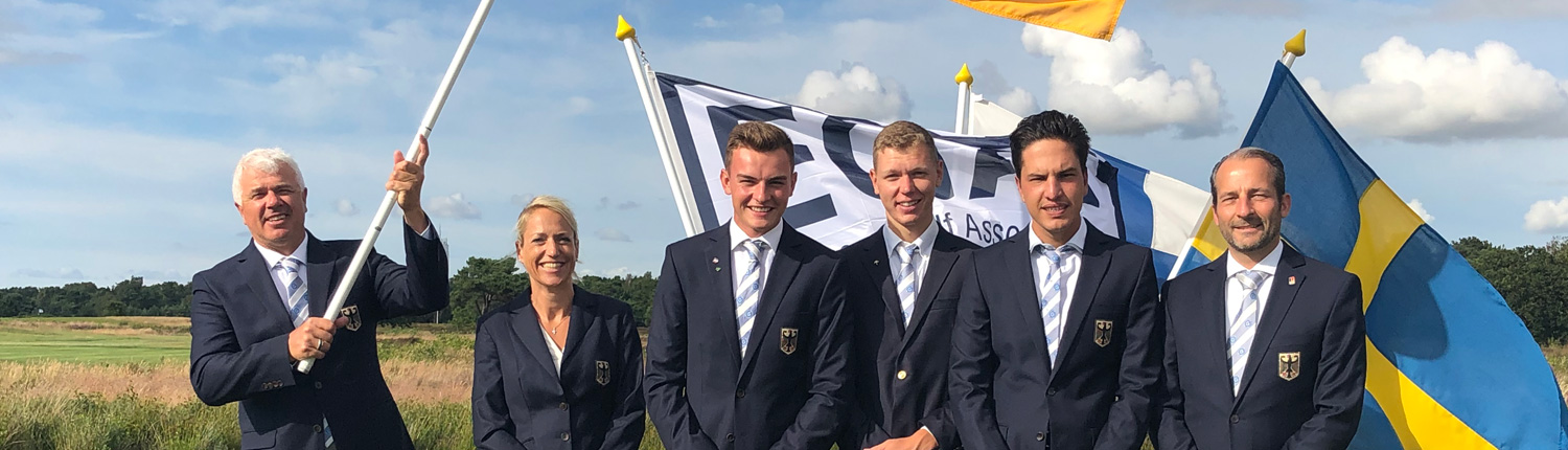 Golf EM Herren Team Germany Schweden 2019 Marc Hohmann