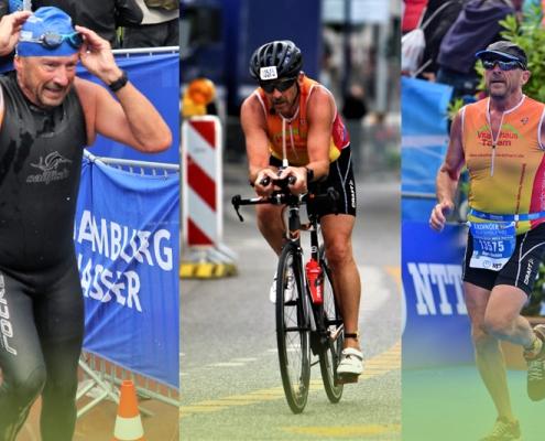 Hamburg Triathlon 2019 Vitalhaus-Team Joachim Bartz