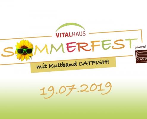 Vitalhaus Glashaus Sommerfest 2019 Achern Catfish