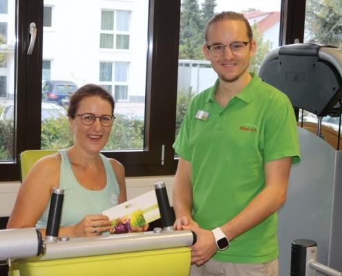 Befragung 2019 kostenfreier Gratis Monat Fitness Achern 2019 Vitalhaus Ehmann