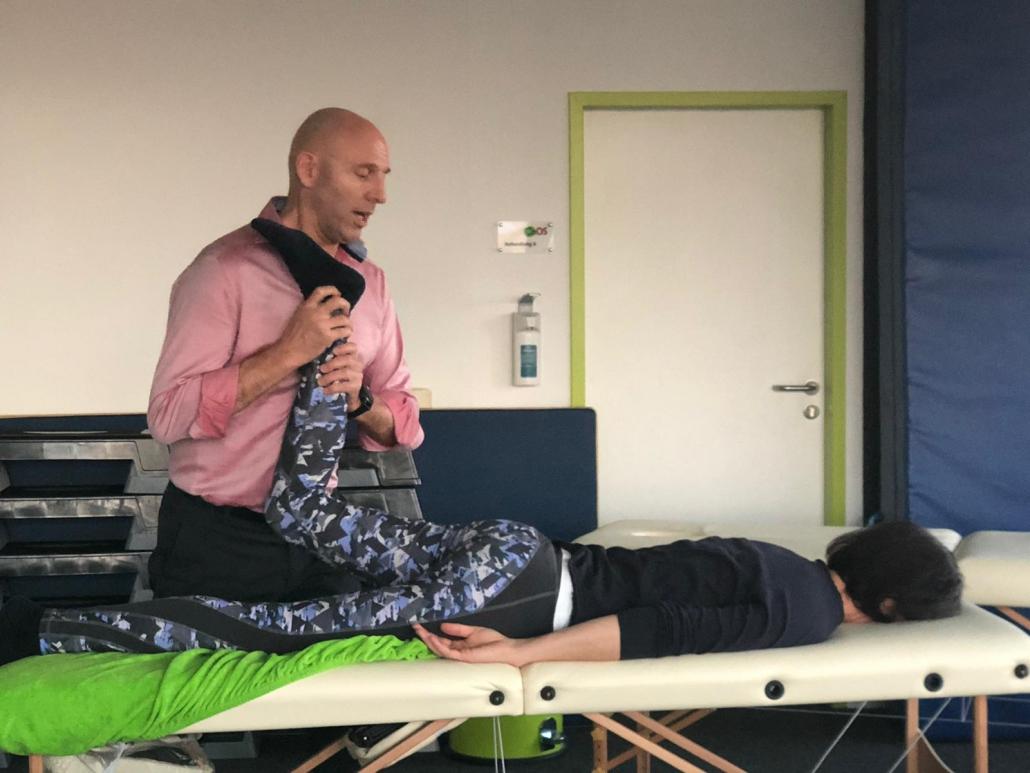 John Brazier im Vitalhaus Achern 2019 Physiotherapie Fortbildung