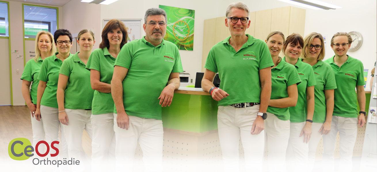 Team CeOS Orthopädie Privatpraxis Dres Spieker Achern
