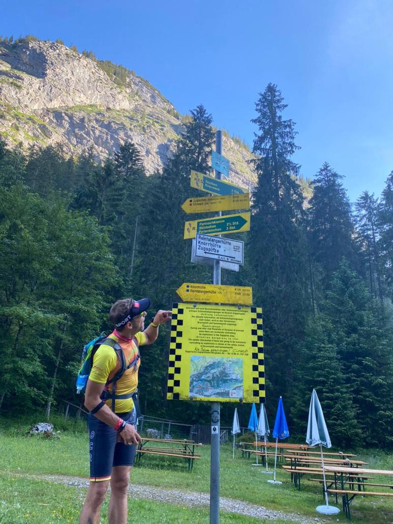 Zugspitze Lauf 2020 Dr. Alfred Spieker Dirk Hochstein Vitalhaus Achern
