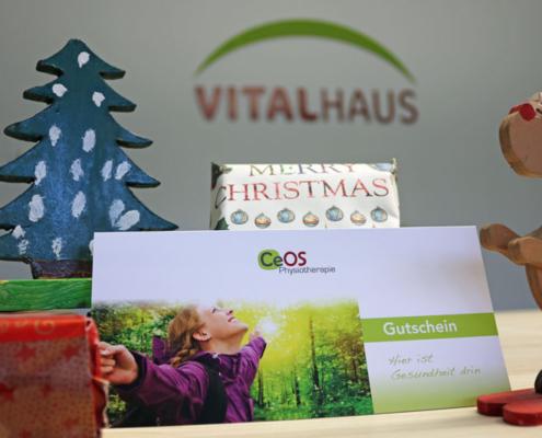 Gutschein Vitalhaus Achern Weihnachten Geschenk
