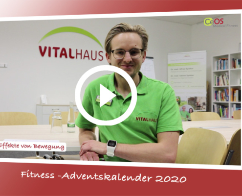 Fitness-Adventskalender 2020 Fitnessstudio