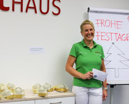 Mitarbeiterin des Jahres 2020 Anke Wieland Vitalhaus Achern