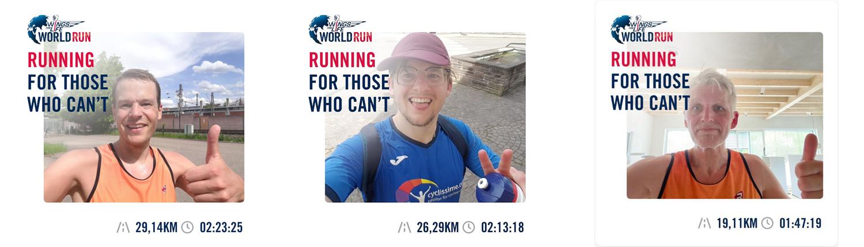 Wings of Life World Run 2021 Spieker Ehmann Vitalhaus-Team