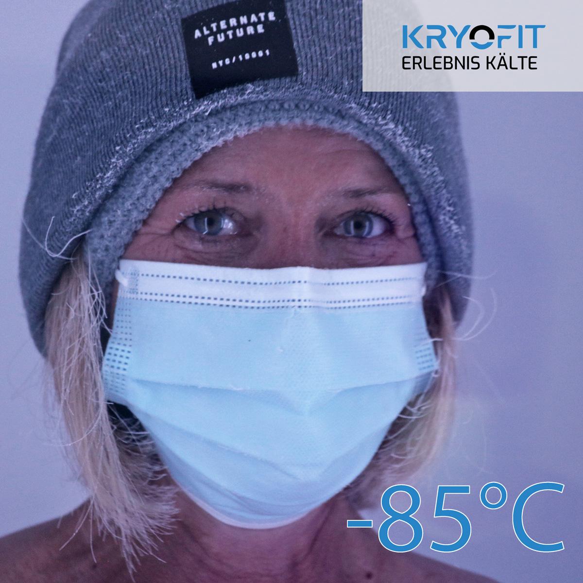 Kältekammer KRYOFIT Kryotherapie Achern Vitalhaus Ortenau